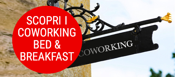 contatto coworking + bed + breakfast