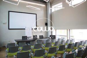 Sala formazione in Coworking Cowo