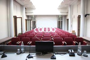 Sala convegni e e formazione al Coworking di Verona