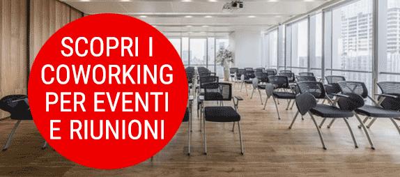 contatti informazioni coworking con spazi adeguati a meeting e/o eventi